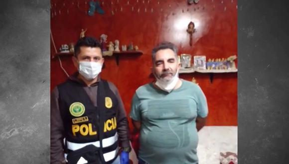 Fabricio Antonio MartÍn Monjarras Ruiz de Somocurcio fue detenido en la localidad de Chulucanas, en Piura. (Captura: América Noticias)