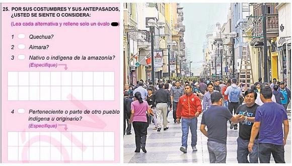 Censo Nacional: la pregunta sobre Autoidentificación étnica que genera controversia
