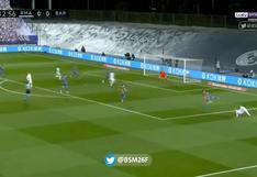 Adelanto merengue de lujo: golazo de taco de Karim Benzema para el 1-0 del Real Madrid vs. Barcelona | VIDEO