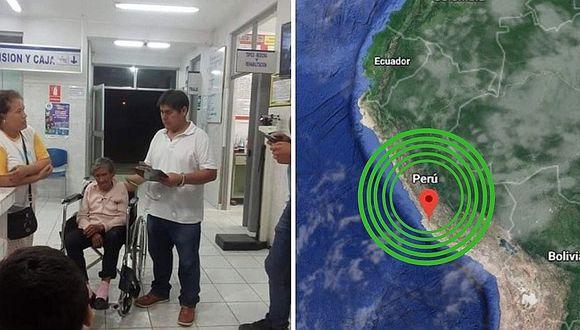 Ica: seis personas heridas dejó sismo de 6.0 grados en Palpa