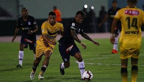 Cantolao va ganando 1-0 a Alianza Lima en la Liga 1 - EN VIVO