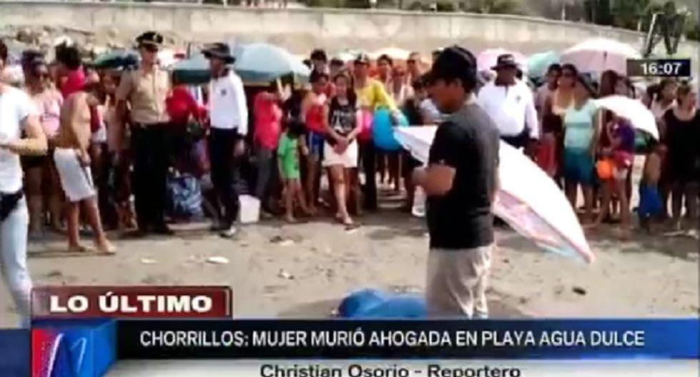 Chorrillos: Mujer muere ahogada en playa Agua Dulce