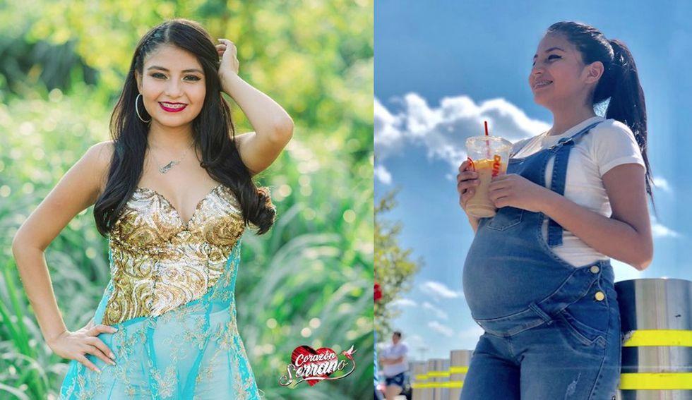 Nickol Sinchi lució su avanzado embarazo en Corazón Serrano hasta hace poco