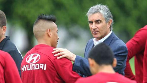 Juan Carlos Oblitas dio su opinión sobre el momento de Christian Cueva en la Selección Peruana. (Foto: GEC)