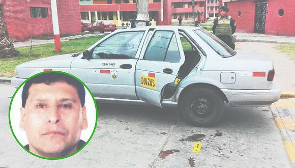 Papá taxista es asesinado frente a su hija de 3 años y bala le impacta en el rostro