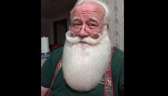 Pequeño se encuentra con Papá Noel y ocurre lo más triste