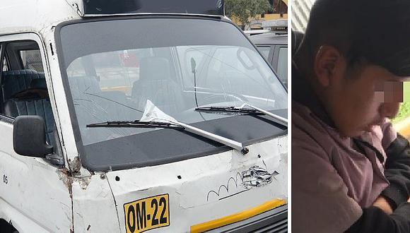 El cobrador de combi y su historia que ya se hizo viral en Facebook