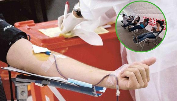 Convocan a donar de sangre para los pacientes del INEN el lunes 4 de febrero