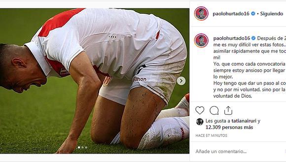 El triste mensaje de Paolo Hurtado tras abandonar la Selección Peruana por lesión │ VIDEO