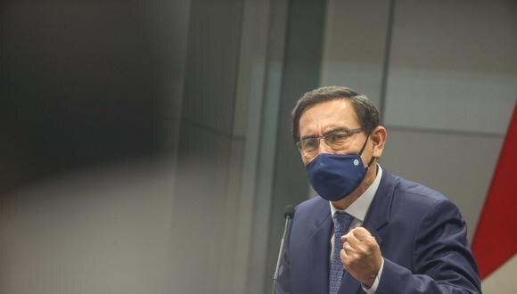 """Martín Vizcarra al Congreso: """"No tenemos tiempo para perder en discusiones estériles"""" (Foto: Presidencia Perú)"""