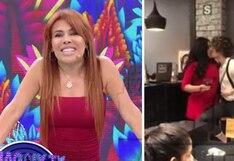Magaly Medina le pregunta a Michelle Soifer: ¿Por qué te los buscas vagos y sin oficio? | VIDEO