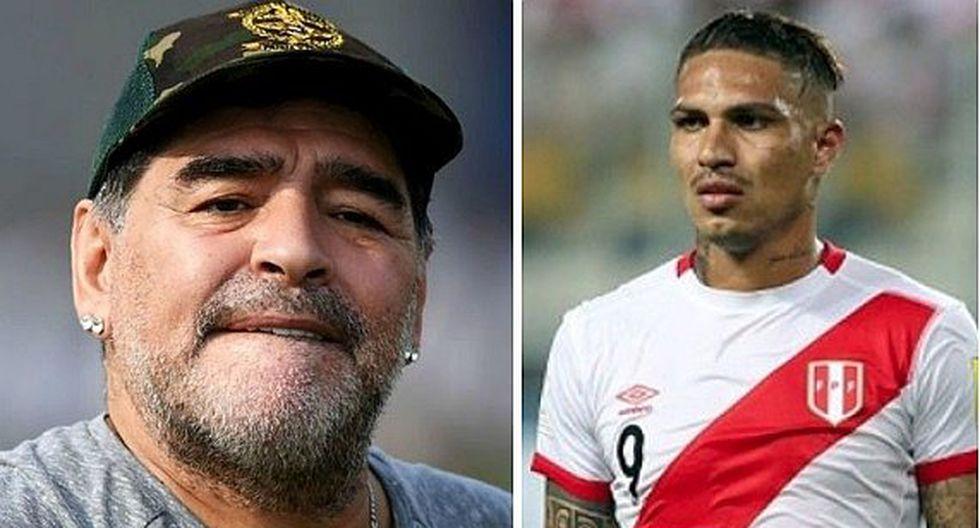 Diego Maradona apoya a Paolo Guerrero con mensaje, pero desata polémica en redes