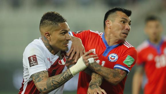 Guerrero jugó 60 minutos contra Chile este jueves por Eliminatorias. (Foto: AFP)