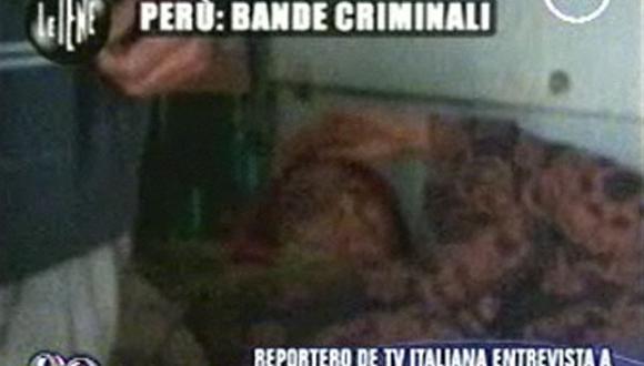 Periodista italiano descubre hombre secuestrado en el Callao