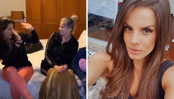 Alejandra Baigorria confirma en redes sociales la recuperación de su mamá María Verónica Alcalá. (Foto: Instagram / @alejandrabaigorria).