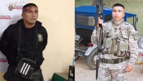 Lambayeque: A Rodnil Román Milian Gabriel (19) se le halló un carné de la Sétima División de Infantería del Ejército Peruano.  (Foto: Sandro Chambergo)