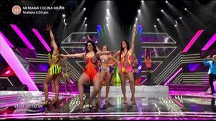 """Alma Bella cantó en vivo en enfrentamiento grupal por dos puntos extras en """"Reinas del show"""""""