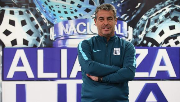 Bengoechea continuará en Alianza Lima por todo el 2020. (Foto: GEC)