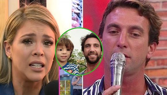 """Antonio Pavón acusa a Sheyla Rojas de """"dejar"""" a su hijo tras operación (VIDEO)"""