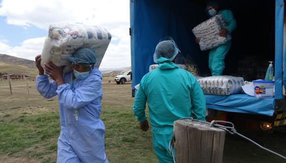 Arequipa: Más de 3100 familias vulnerables se beneficiarán con 283 toneladas de alimentos (Foto: Qali Warma)