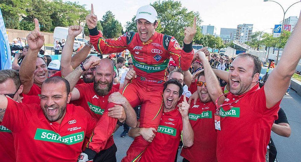 Fórmula E: Lucas Di Grassi es campeón de 2017 al llegar séptimo (VIDEO)