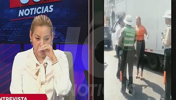 """Abogada pide disculpa a policía que insultó: """"No estaba en mis casillas"""" (VIDEO)"""