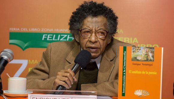 El poeta y guionista peruano Enrique Verástegui falleció a los 68 años