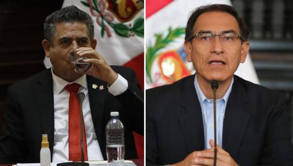 Merino de Lama indicó que el presidente debe dar explicaciones a la ciudadanía y no atacar al Parlamento. (Foto: Hugo Pérez/GEC)