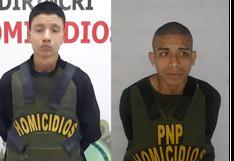 SMP: Policía captura a dos 'marcas' y frustra asalto a entidad bancaria