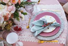 10 hermosas ideas para la decoración de tu mesa navideña