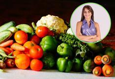 Qué comer después del COVID-19: la mitad de lo consumido en el día debe ser frutas y verduras