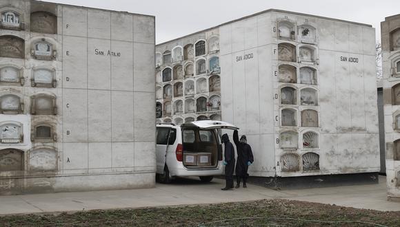 La cantidad de fallecidos por COVID-19 aumentó este domingo. (Foto: César Campos/Referencial-GEC)
