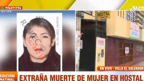 Jessica Puquio Arias tenía dos años de relación con su pareja y que, según contó un familiar, era víctima de constantes agresiones. (ATV+)