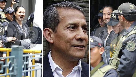 Ollanta Humala pide respetar drama que vive Keiko Fujimori y su familia