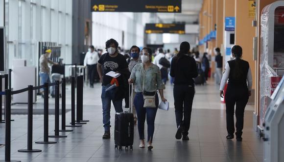 Los vuelos desde y hacia Europa fueron nuevamente suspendidos. (Foto: Hugo Perez / GEC).