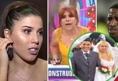 """Magaly compara fiesta de Farfán con boda de Susy Díaz y Andy V: """"podríamos enseñarle a Yahaira"""""""