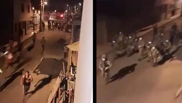 Cañete: Militares corretean a vecinos que se oponían a entierro de cadáver con COVID-19
