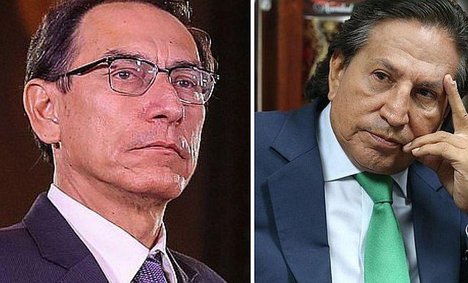 Martín Vizcarra se compromete a extraditar a Toledo antes que deje el cargo