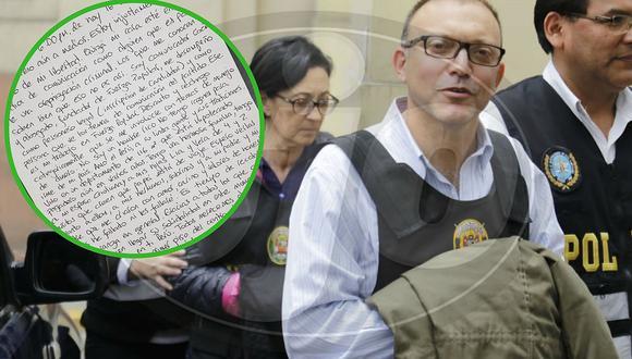 Pier Figari, asesor de Keiko Fujimori, afirma no estar metido en dinero de Fuerza Popular