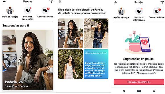 """Facebook Parejas"": La red social de citas, donde podrás hacer 'match', llegó a Perú"