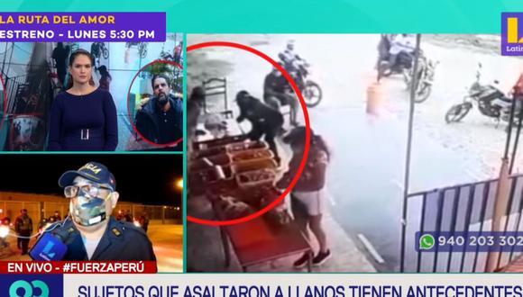 La Policía continúa con los operativos en Tumbes para capturar a los delincuentes que asaltaron a Luis Miguel Llanos. (Latina)