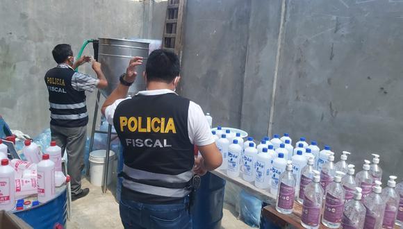 La intervención estuvo a cargo de agentes de la Policía Fiscal. (Foto: PNP)