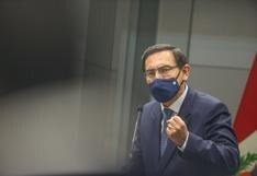 """Martín Vizcarra al Congreso: """"No tenemos tiempo para perder en discusiones estériles"""""""