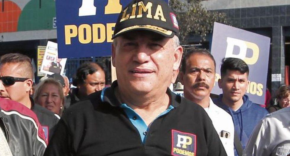 Daniel Urresti quedó excluido del proceso electoral convocado para el 26 de enero. (Foto: GEC)