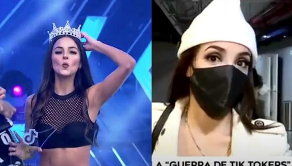 Rosángela tenía algo que decir sobre la competición. (Captura América TV)