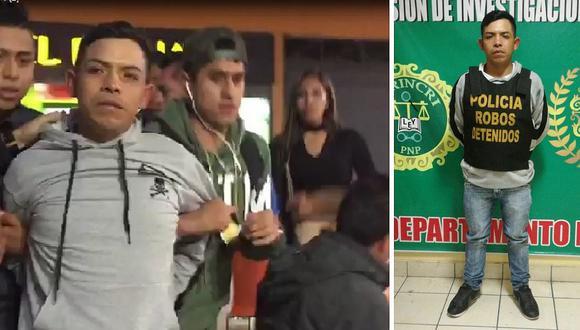 Policía lo detiene cuando cenaba en conocido supermercado (VIDEO)