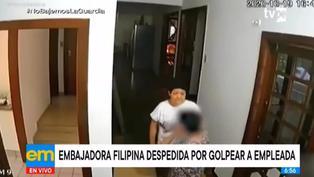 Embajadora de Filipinas es despedida por golpear a su empleada doméstica