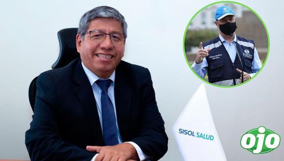 Carlos Enrique Contreras Ríos, presidente interino de Sisol Salud, fue separado tras confirmarse que recibió la vacuna contra el COVID-19. (Foto: MML | GEC)