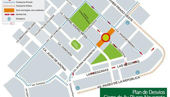 Cerrarán calles de San Isidro durante 10 meses por construcción de estacionamientos