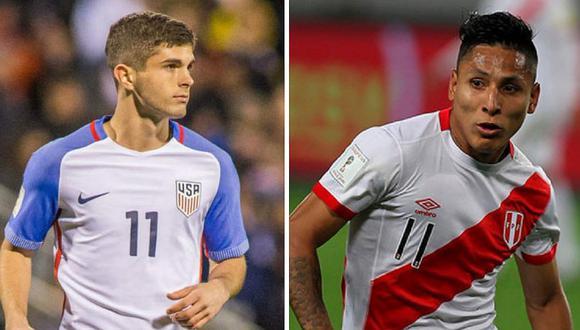 EE.UU. presenta su lista de convocados para partido contra Perú